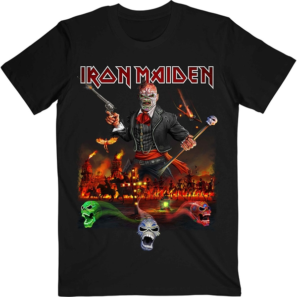 Iron Maiden - Legacy of the Beast Live Album Unisex X-Large T-Shirt - Black