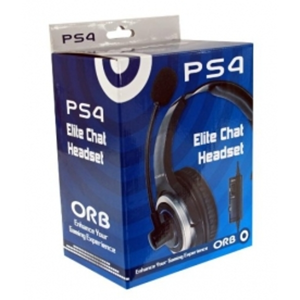 ORB Elite Gaming Chat Headset PS4 Damaged