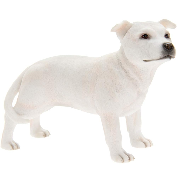 Staffordshire Bull Terrier Figurine By Lesser & Pavey