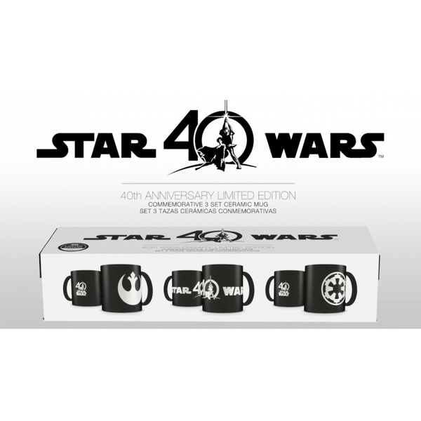 Star Wars 40th Anniversary Deluxe Mug set - Image 1