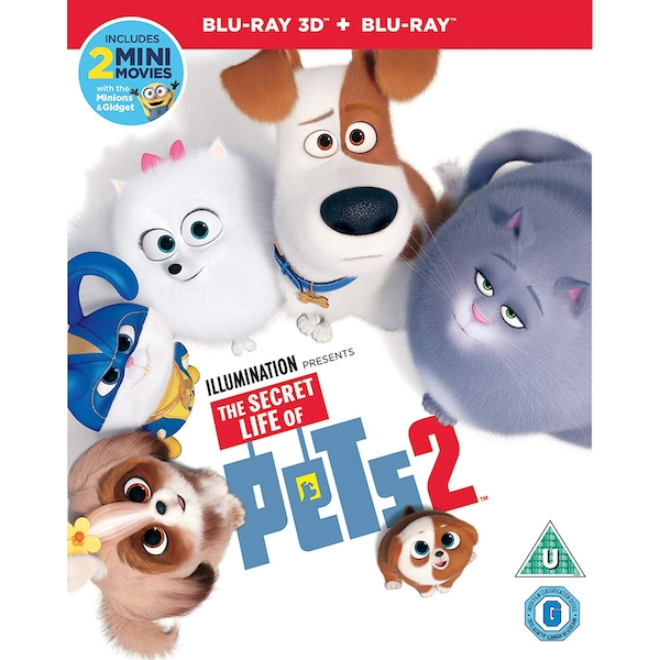 The Secret Life of Pets 2 3D + Blu-ray