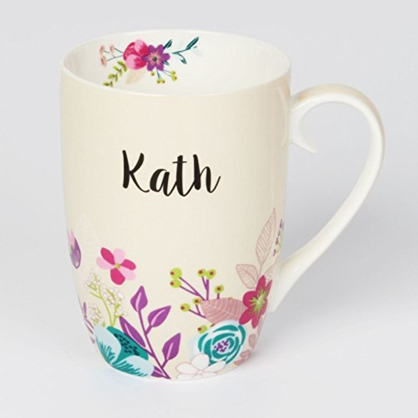 Vintage Boutique Ceramic Mug - Kath