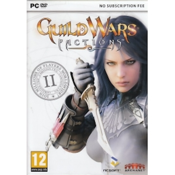 Guild Wars Factions Game PC