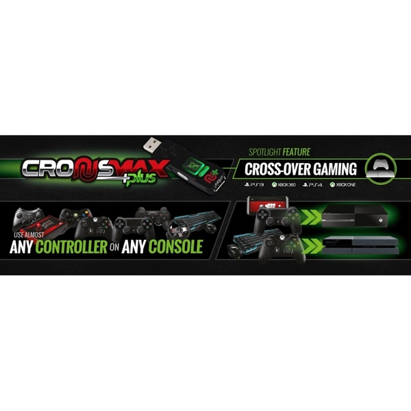 CronusMAX PLUS Crossover Gaming Adapter (PS4 PS3 Xbox One Xbox 360