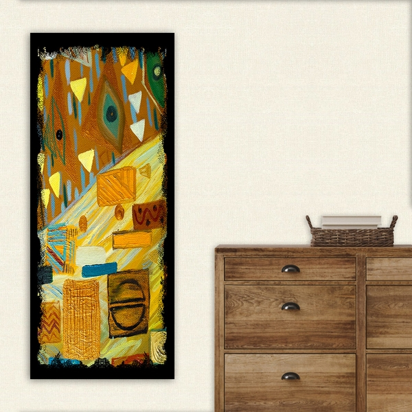 DKY238938190_50120 Multicolor Decorative Canvas Painting