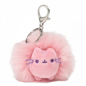 Pusheen Pastel Pink Pom (Pusheen) Mini Plush Keyring