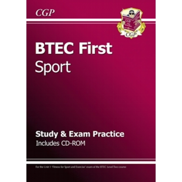 BTEC First in Sport - Study & Exam Practice with CD-Rom by CGP Books (Paperback, 2013)