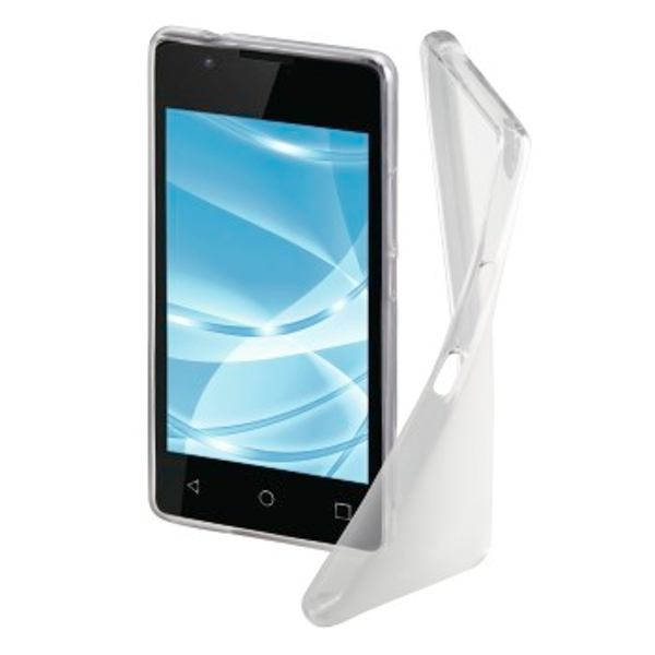 "Hama ""Crystal"" Cover for Wiko Sunny 2, transparent"