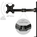 Single Arm Monitor Bracket | M&W IHB USA (NEW) - Image 5