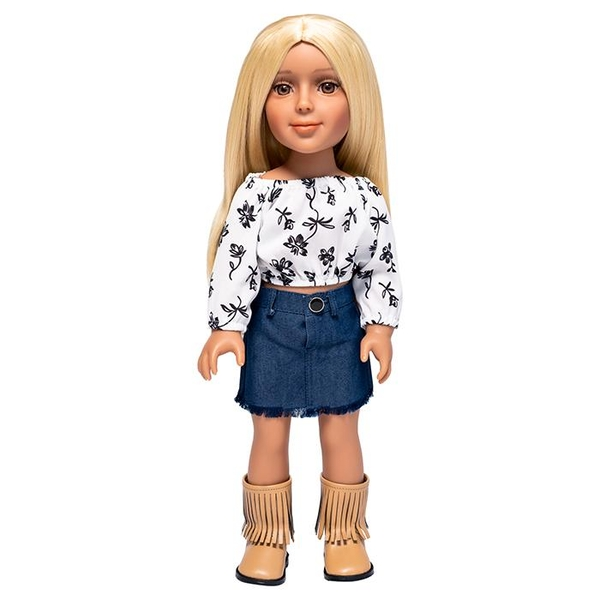 I'm A Girly Fashion Doll Zoe