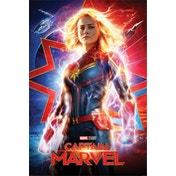 Captain Marvel - Higher, Further, Faster Maxi Poster