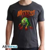 World Of Warcraft - Murloc - Men's Large T-Shirt - Grey