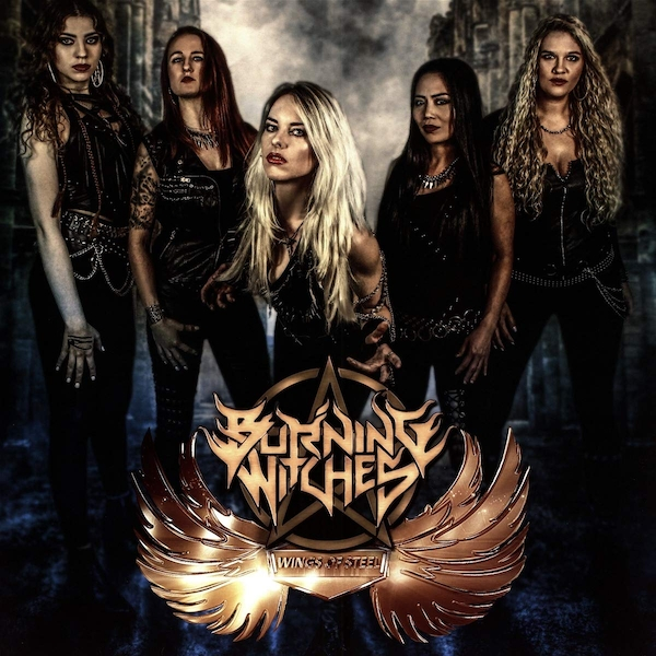 Burning Witches - Wings Of Steel Vinyl