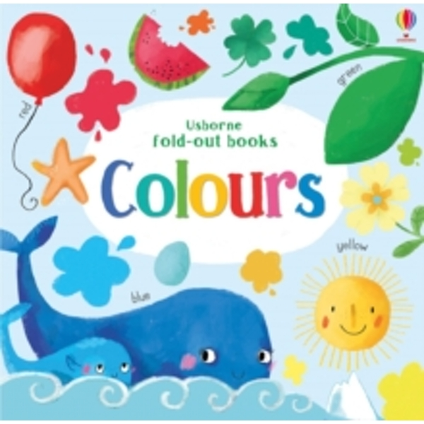 Colours (Fold Out Books) Board book