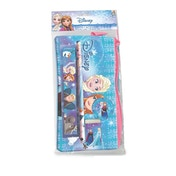 Disney Frozen Pencil Case with School Accessories Set