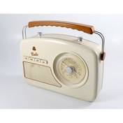 GPO Rydell Vintage Four Band Radio Cream