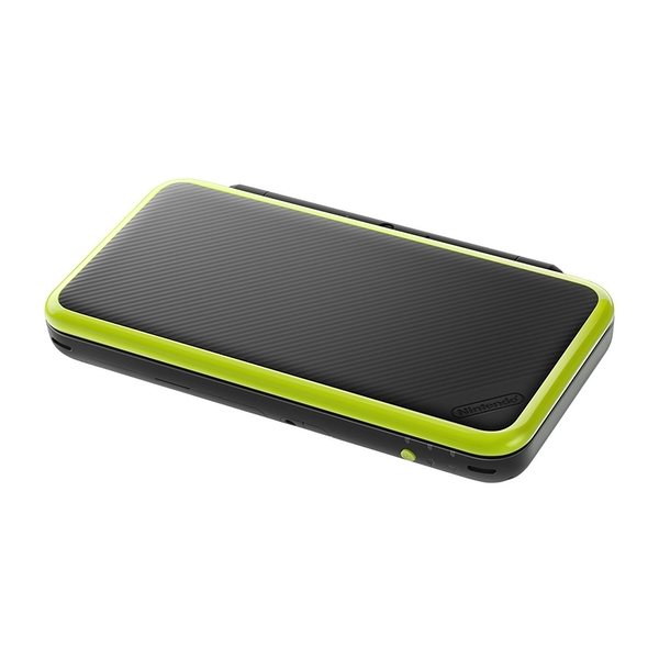 New Nintendo 2DS XL Black and Lime Green Console Pre-installed with Mario Kart 7 (UK Plug) - Image 2