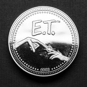 E.T. Collector's Limited Edition Coin (Silver)