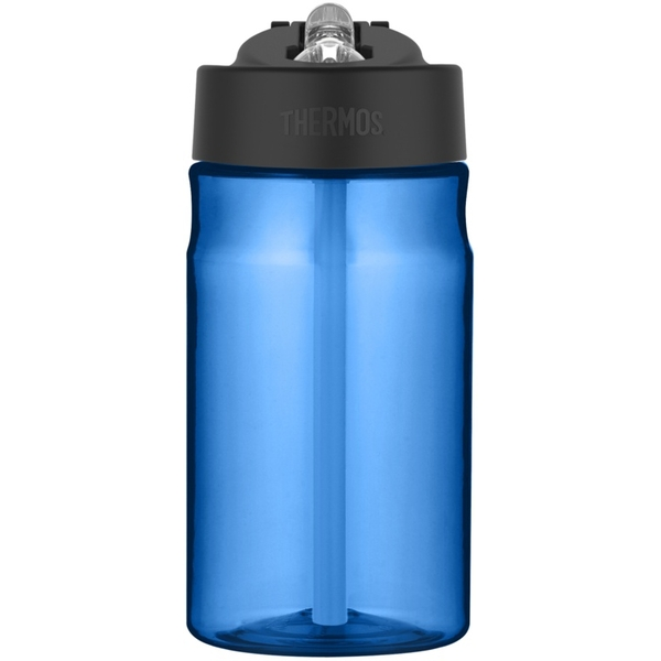 Thermos Hydration Bottle with Straw Blue 355ml