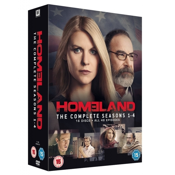 Homeland - Seasons 1-4 DVD
