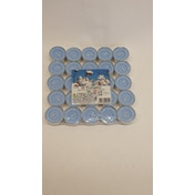 Price's Candles Tealights Pack 25 Cotton Flowers