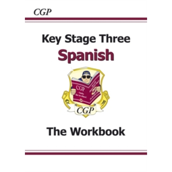 Ks3 Spanish Workbook with Answers by CGP Books (Paperback, 2013)