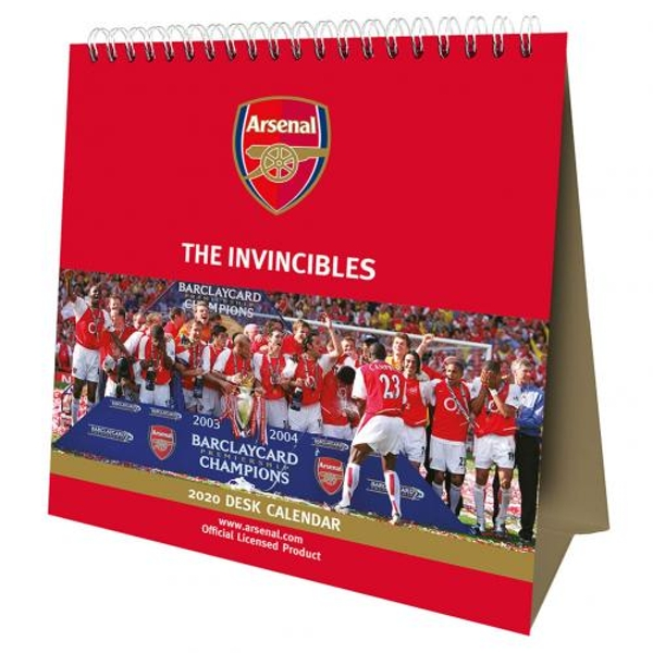 Arsenal FC Desktop Calendar 2020
