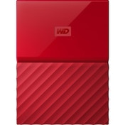 WD 4TB My Passport Portable Hard Drive and Auto Backup Software Red