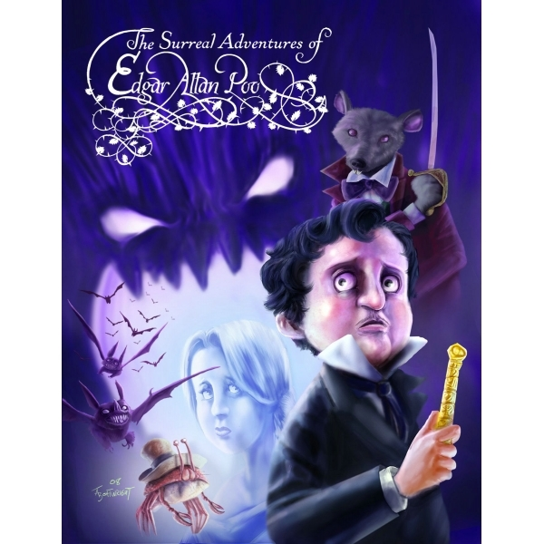 The Surreal Adventures Of Edgar Allan Poo: Book 2