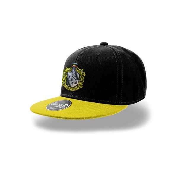 Harry Potter - Hufflepuff Snapback Cap - Black/Yellow