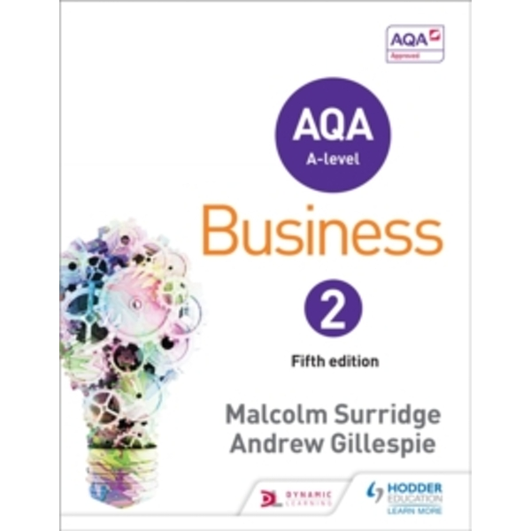 AQA Business for A Level 2 by Andrew Gillespie, Malcolm Surridge (Paperback, 2015)