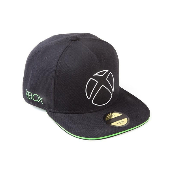 Microsoft - Ready To Play Unisex Snapback Baseball Cap - Black/Green