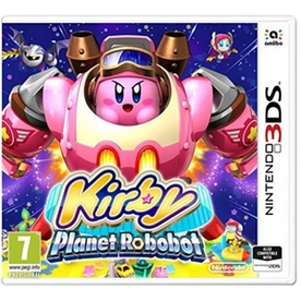 Kirby Planet Robobot 3DS Game