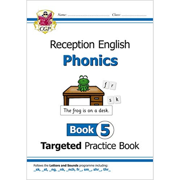 English Targeted Practice Book: Phonics - Reception Book 5  Paperback / softback 2018