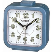 Casio TQ141-2 Beep Alarm Clock Blue