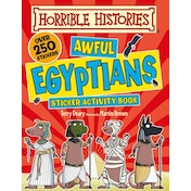Awful Egyptians (Horrible Histories Sticker Activity Book) Paperback – Illustrated