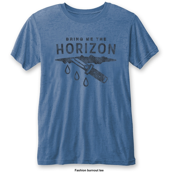 Bring Me The Horizon - Wound Unisex Small T-Shirt - Blue