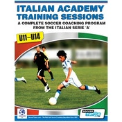 SoccerTutor Italian Academy Training Sessions Book for U11-14