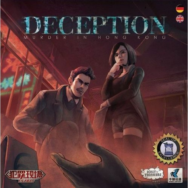 Deception Murder in Hong Kong Board Game