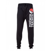 Pokemon Men's Trainer X-Large Lounge Pants - Black