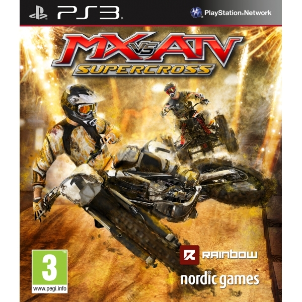 MX vs ATV Supercross PS3 Game