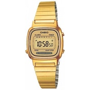 Casio Ladies Gold Plated Digital Watch