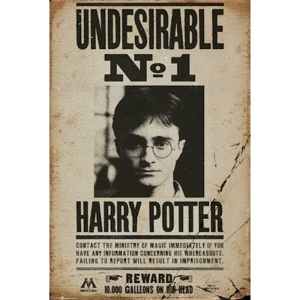 Harry Potter - Undesirable No 1 Maxi Poster