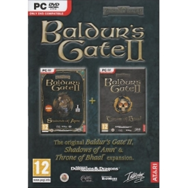 Baldur's Gate 2 II Shadows Of Amn Game PC