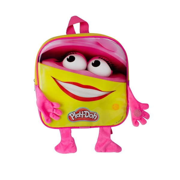 Play-Doh - Play-Doh Pink Doh Doh Backpack - Multi-Colour