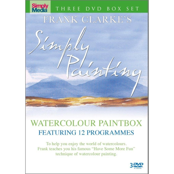 Frank Clarke's Simply Painting - Watercolours DVD