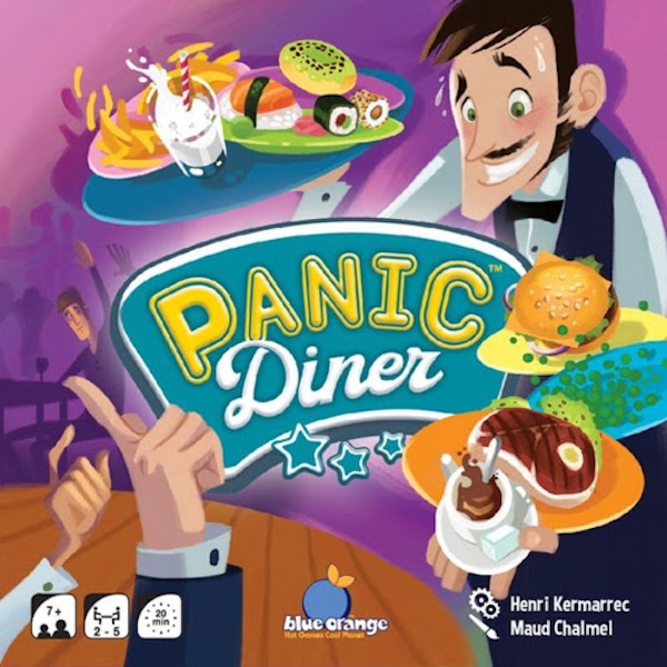 Panic Diner Board Game