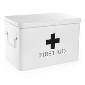 First Aid Storage Box | M&W White