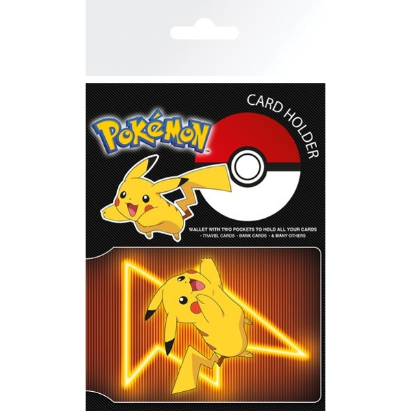 Pokemon - Pikachu Neon Card Holder