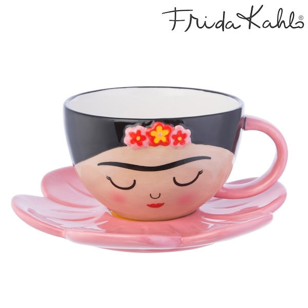 Sass & Belle Frida Cup and Flower Saucer Set
